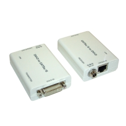 DVI to CAT5e/6 Extender - Front View