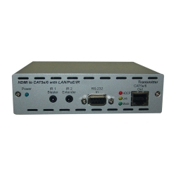 HDMI & IP Over Single CAT6 Extender - Front View