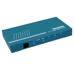 3-in 1-out HDMI 1.3 Switcher - Front View