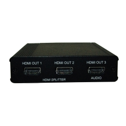 1 x 2 HDMI Splitter with 3D Audio to Amplifier - Front View