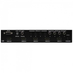 4-in 1-out HDMI v1.3 with Digital Audio Switcher - Back View