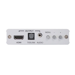 HDMI to HDMI Scaler Box - Back View