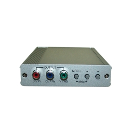 DVI-I to Component (HD) Scaler Box - Front View