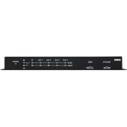 1x4 HDMI 6G Splitter - Front View