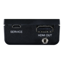 HDMI to HDMI Enhancer with EDID Management - Back View