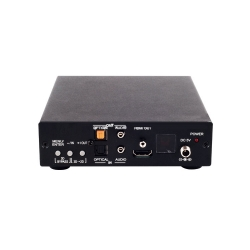 HDMI/DisplayPort/VGA to HDMI Scaler with 3D - Back View