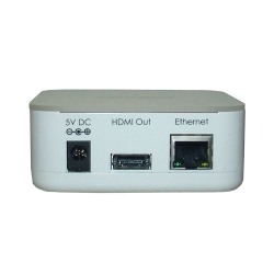 Wireless PC to TV - Back View